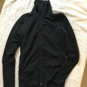 Lululemon track zip down jacket